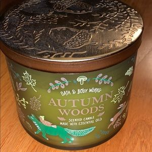 Bath and Body Works Autumn Woods Candle